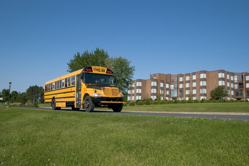 school bus in northville